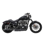 "Cobra Heat Shields For 3"" Slip-On Mufflers For Harley Sportster 2014-2016"