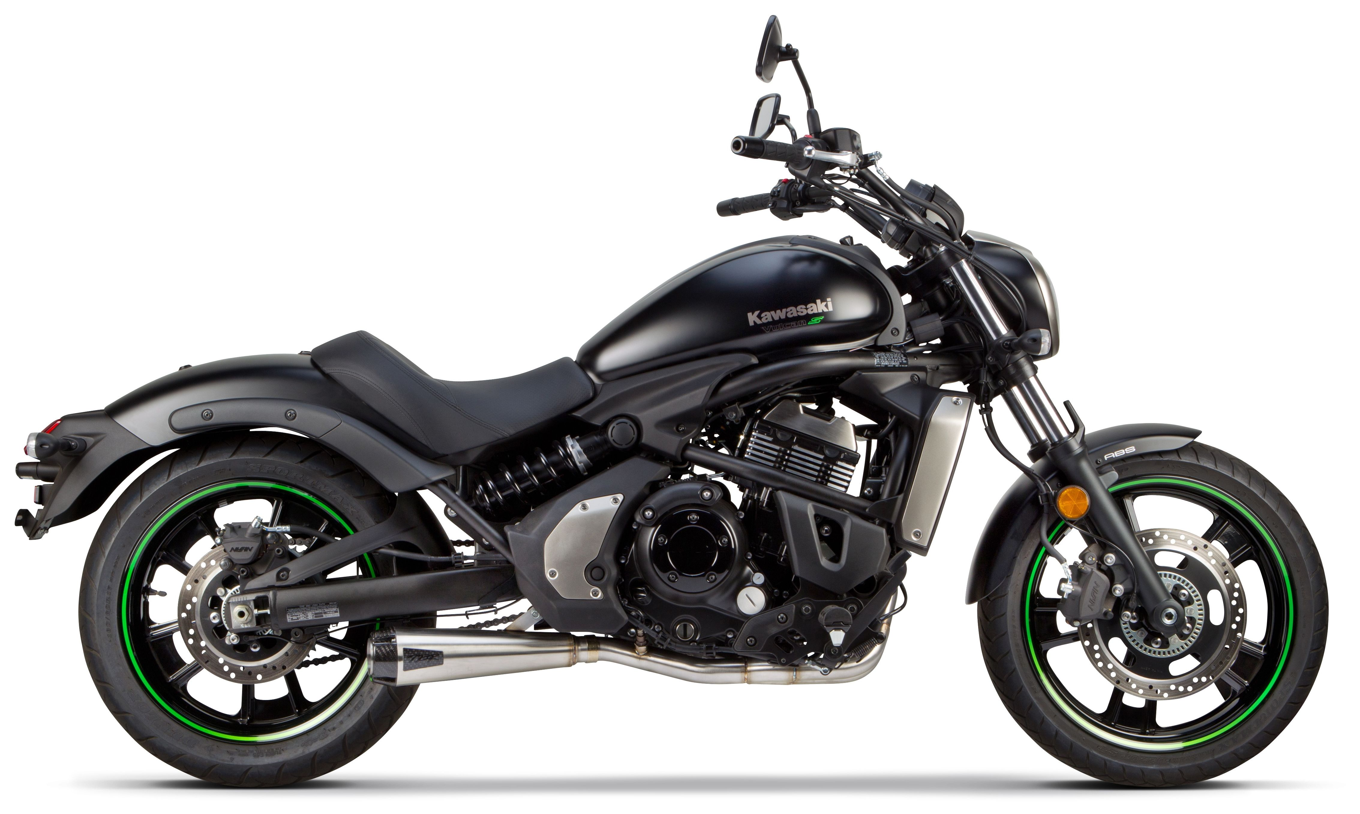 Two Brothers Comp-S Exhaust System Kawasaki Vulcan S 2015-2019