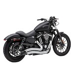 "Cobra Speedster Short Swept 2.5"" Exhaust For Harley Sportster 2014-2015"