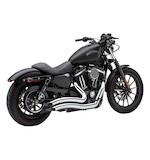 """Cobra Speedster Short Swept 2.5"""" Exhaust For Harley Sportster 2014-2015"""