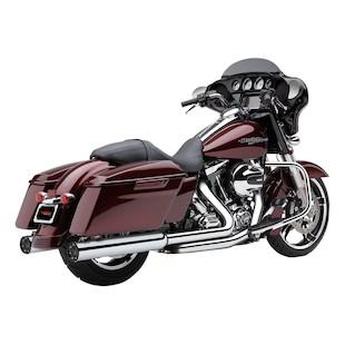 "Cobra 4"" RPT Slip-On Mufflers For Harley Touring 1995-2016"