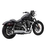Cobra PowerPro HP 2-Into-1 Exhaust With Race-Pro Tip For Harley Sportster 2014-2015