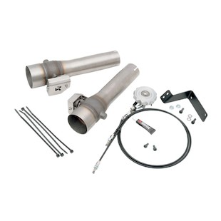 Akrapovic Slip-On Muffler Sound Valve System For Harley Touring 2006-2015