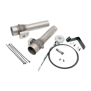Akrapovic Slip-On Muffler Sound Valve System For Harley Sportster 2006-2013