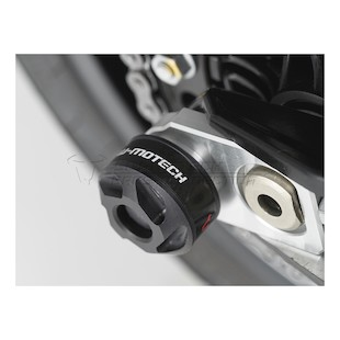 SW-MOTECH Rear Axle Sliders BMW F700GS / F800R / F800GS / Adventure