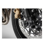 SW-MOTECH Front Axle Sliders Black Triumph Street Triple / R 2012-2015
