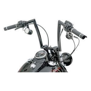 "Todd's Cycle 1 1/4"" Strip Handlebars For Harley Springer 1988-2011"
