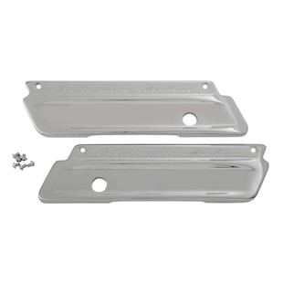 Performance Machine Smooth Saddlebag Latch Covers For Harley Touring 2014-2017