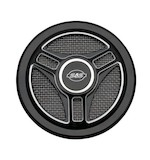 S&S Tri-Spoke Stealth Air Cleaner Cover