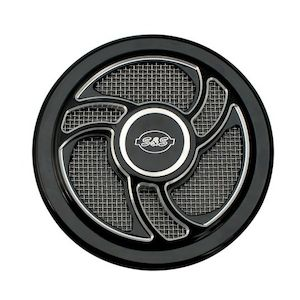 S/&,S Cycle S/&S Cycle Torker Air Cleaner Cover 170-0206