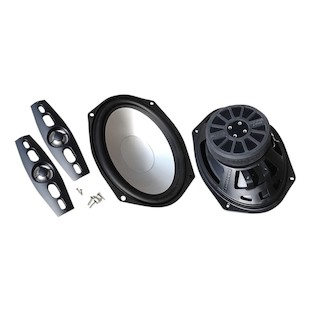 "Hogtunes 6"" x 9"" Saddlebag Lid Speakers For Harley Touring 1998-2013"