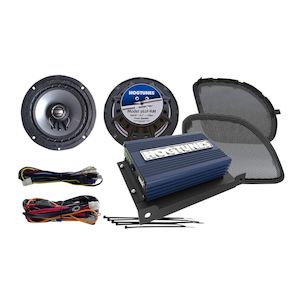 Hogtunes REV Speaker And Amp Kit For Harley Road Glide 2016-2018