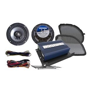 Hogtunes REV Speaker And Amp Kit For Harley Road Glide 2016-2017