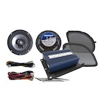 Hogtunes REV Speaker And Amp Kit For Harley Road Glide 2016-2017