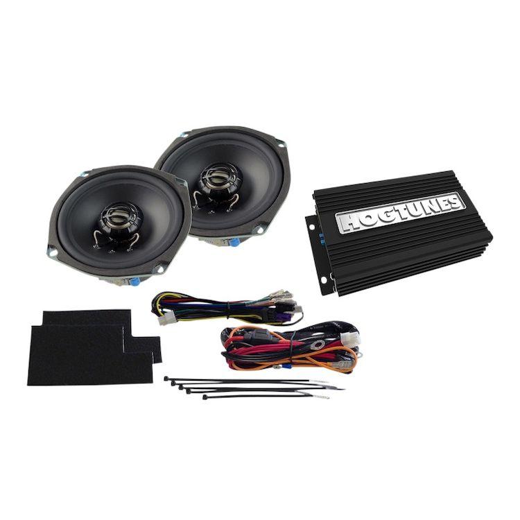 Hogtunes Gen 3 Front Speaker / Amp Kit For Harley Street / Electra Glide 1998-2013