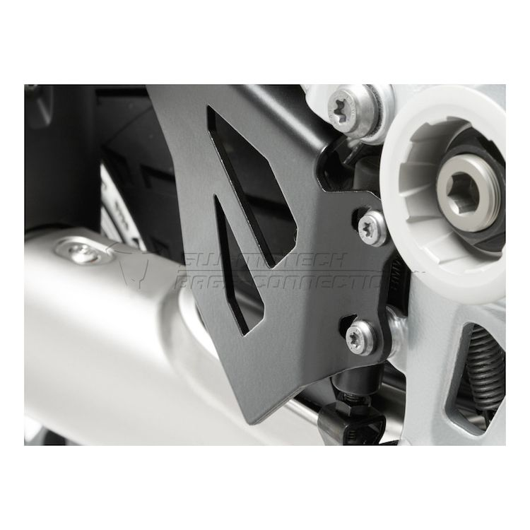 SW-MOTECH Heel Guards And Rear Master Cylinder Protector BMW R1200GS / R1250GS / Adventure