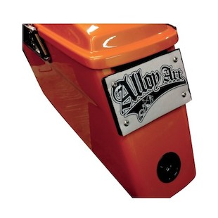 Alloy Art Removable License Plate Mount For Harley Touring 1993-2017
