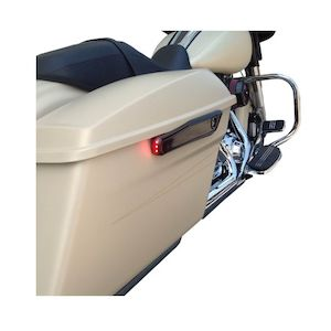 Alloy Art LED Saddlebag Hinge Covers For Harley Touring 2014-2018