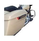 Alloy Art LED Saddlebag Hinge Covers For Harley Touring 2014-2015