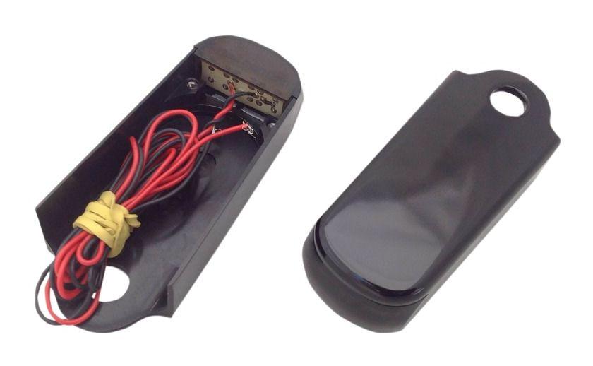 alloy art fender strut led marker lights for harley. Black Bedroom Furniture Sets. Home Design Ideas