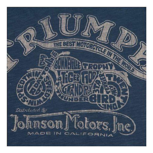Triumph Johnson Motors Cycle Range T Shirt Revzilla