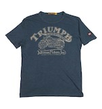 Triumph Johnson Motors Cycle Range T-Shirt - (Size SM Only)