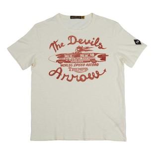Triumph Johnson Motors Devil 39 S Arrow T Shirt Revzilla