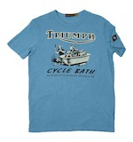 Triumph Johnson Motors Cycle Bath T-Shirt