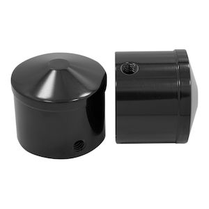 Avon Contour Front Axle Nut Caps For Harley 2007-2018