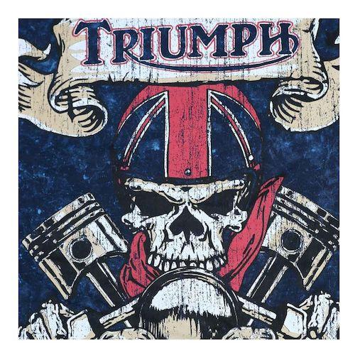 triumph uhl live fast t-shirt - (size sm only) - revzilla