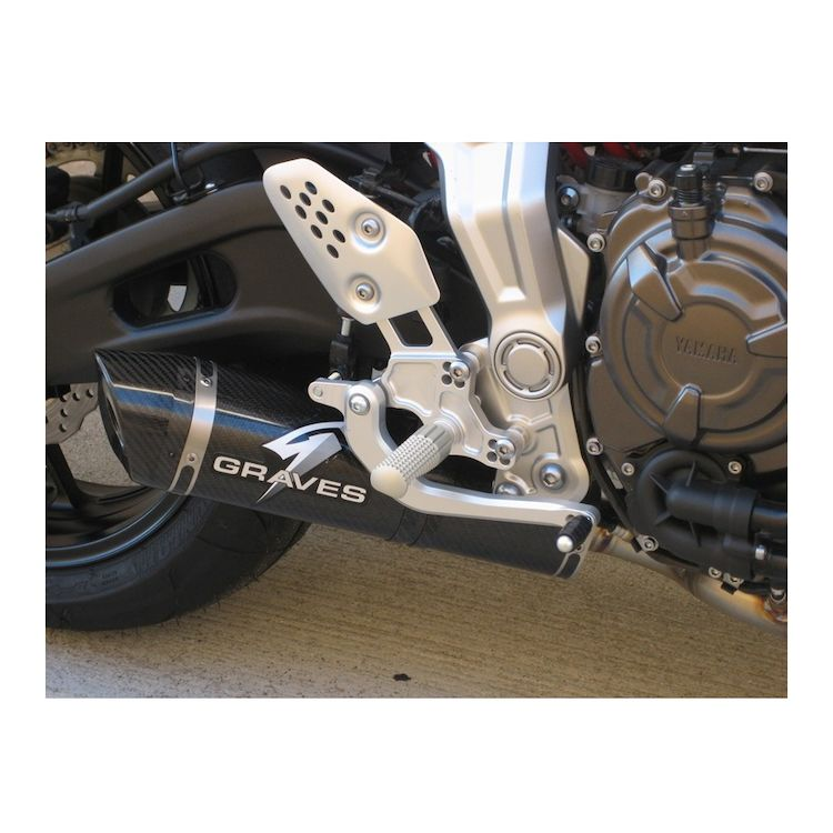 Graves Rearsets Yamaha FZ-07 / MT-07 / XSR700