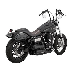 Vance & Hines Grenades Hi-Output Exhaust For Harley Dyna 2006-2017