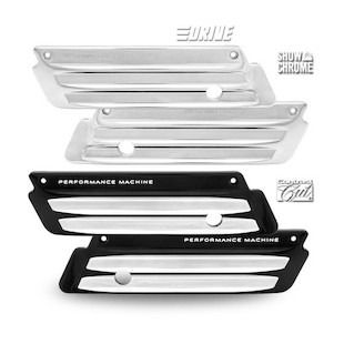Performance Machine Drive Saddlebag Latch Covers For Harley Touring 1993-2013