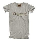 Triumph Metallic Vintage Logo Women's T-Shirt