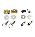 Cycle Visions Secure Fit Saddlebag Hardware Kit For Harley Touring 1993-2013
