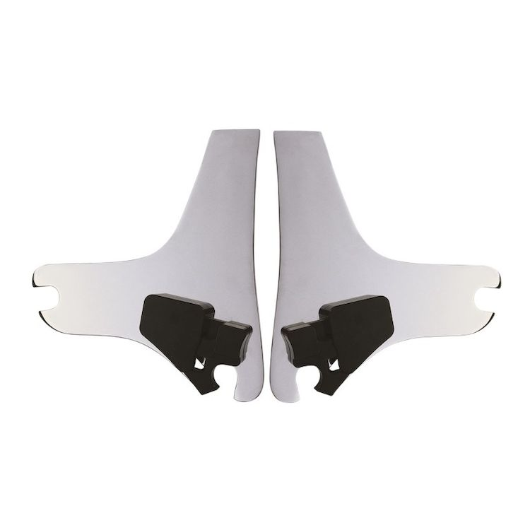 Cycle Visions D-Tach Sissy Bar Side Plates For Harley Touring