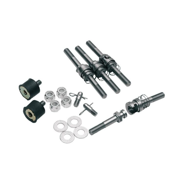 Cycle Visions Barebacks Saddlebag Quick Release Kit For Harley Softail 2003-2017