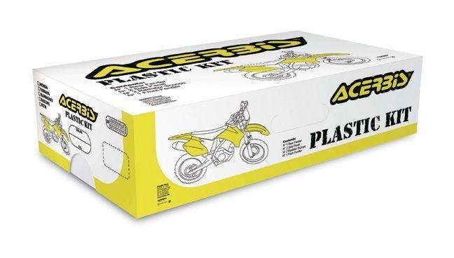 Acerbis New Plastic Kit Standard White HONDA CRF450R 2005-2006