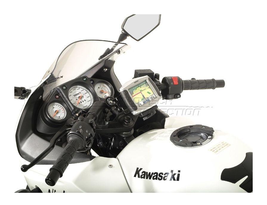 SW-MOTECH Quick Release GPS Mount Kawasaki Ninja 250R / 300 | 15% ($10 04)  Off!