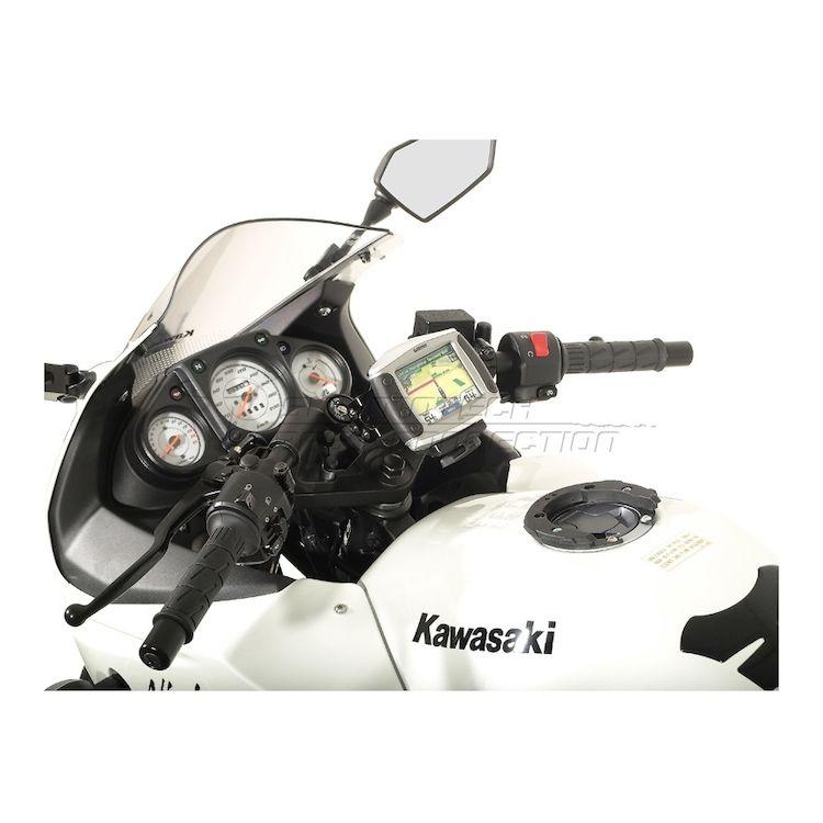 SW-MOTECH Quick Release GPS Mount Kawasaki Ninja 250R / 300 on