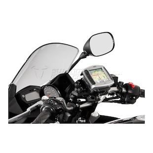 SW-MOTECH Quick Release GPS Mount Honda / Triumph / Yamaha