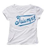Triumph Women's Script Logo T-Shirt