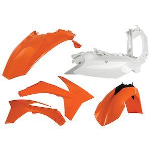 Acerbis Standard Plastic Kit KTM SX / SX-F / XC / XC-F 125cc-450cc 2011-2012