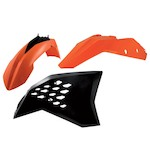Acerbis Standard Plastic Kit KTM SX / SX-F / XC / XC-F 125cc-505cc 2008-2010