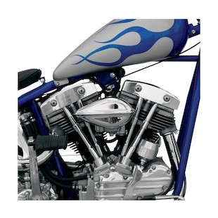Paughco Ribbed Teardrop Air Cleaner For Harley S&S Carb