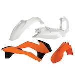 Acerbis Standard Plastic Kit KTM SX / SX-F / XC / XC-F 125cc-450cc 2013-2016