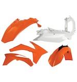 Acerbis Standard Plastic Kit KTM XC-W All 2008-2011 / EXC 450 / EXC 530 2008-2011