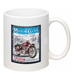 Triumph The Motorcycle Poster Mug
