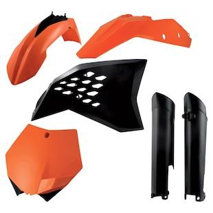 Acerbis Full Plastic Kit KTM SX / SX-F / XC 125cc-505cc 2007-2010