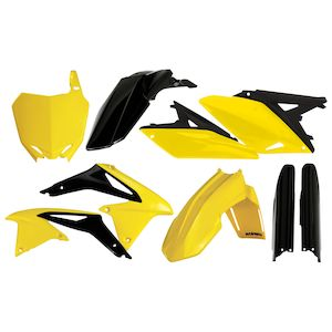Shop Dirt Bike Plastics Kits | Number Plates & Fenders